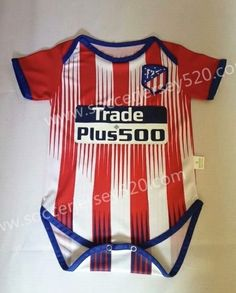 2018-19 Atletico Madrid Home Red and White Baby Soccer Uniform 8432ff345