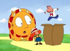 I remember this show! It was called Maggie and the Ferocious Beast, and the beast was really sweet and sensitive.