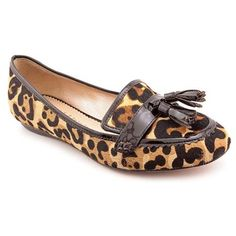 $73, Brown Leopard Suede Tassel Loafers: Jean Michel Cazabat Romaine Brown Loafers Shoes Newdisplay. Sold by buy.com. Click for more info: https://lookastic.com/women/shop_items/105382/redirect
