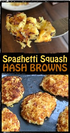 Low Carb Spaghetti Squash Hash Browns (Keto Friendly) Looking for easy and healthy spaghetti squash recipes? This one is great for the leftover squash! Spaghetti Squash Hash Browns Recipe – Low carb and keto friendly! Low Carb Keto, Low Carb Recipes, Healthy Recipes, Protein Recipes, Low Calorie Paleo, Vegetable Recipes, Vegetarian Recipes, Vegetarian Dinners, Tofu Recipes
