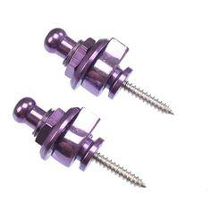 Coloured Guitar Strap Locks - Pair – Fretfunk.