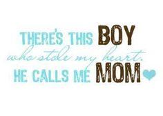 awwwww...my darling little boy...!!!