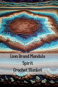 Crochet Lion, Crochet Mandala Pattern, Afghan Crochet Patterns, Thread Crochet, Crochet Shawl, Crochet Stitches, Knit Crochet, Crochet Afghans, Crochet Blankets