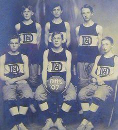Vintage Basketball Memorabilia - Antique Basketball Memorabilia