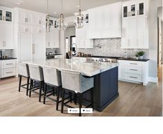 Could we do dark blue for our island (esp if we paint exterior of the house in the same color?) Gravel Gray by Benjamin Moore Could we do dark blue for our island (esp if we paint exterior of the house in the same color?) Gravel Gray by Benjamin Moore Home Decor Kitchen, Kitchen Interior, New Kitchen, Home Kitchens, Kitchen Ideas, Hickory Kitchen, Farmhouse Kitchens, Modern Kitchens, Cheap Kitchen
