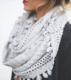 soft + pretty Anthropologie Scarf