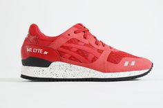 Asics - Gel Lyte III NS (Red/Red)