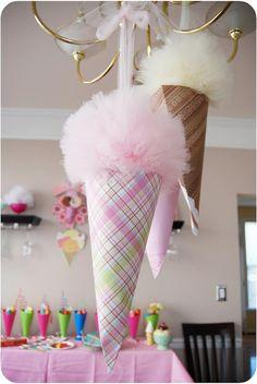 Decorations: Ice Cream party