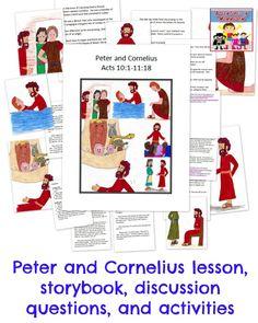 Peter And Cornelius Sunday School Lesson