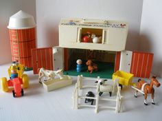 I played endlessly with the Fisher Price Farm just to entertain my much younger brothers and sisters.