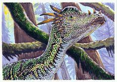 Pachycephalosaur Stygymoloch - puas by ~r-dario on deviantART