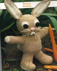Crochet Pattern ~ Peter Rabbit Bunny