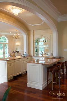 Main Line Homes traditional kitchen