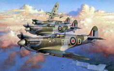 In tribute to Polish 303 squadron