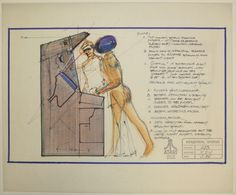 ICHEG has acquired a collection of more than 250 drawings that document how designers at Atari created some of the most important games of the arcade era. Sketches show the development of games such as Gran Trak 10, the first cabinet to use a steering wheel, shifter, and gas and brake pedals; Touch Me, which inspired Ralph Baer's Simon; the pioneering 3D dogfight simulator Red Baron; and the legendary dungeon crawler Gauntlet.