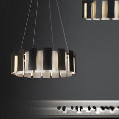 瑞铃 后现代简约餐厅吊灯个性创意艺术饭厅灯具圆形北欧卧室客厅