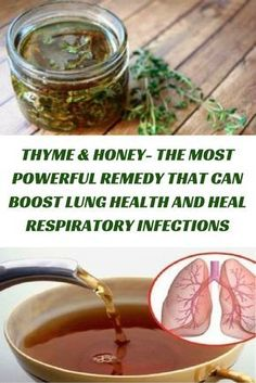 THYME & HONEY- THE MOST POWERFUL REMEDY THAT CAN BOOST LUNG HEALTH AND HEAL RESPIRATORY INFECTIONS