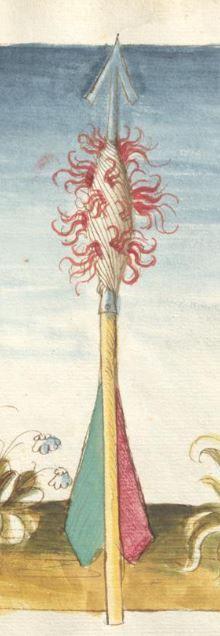 Bellifortis VerfasserKyeser, Conradus  ErschienenElsaß, [um 1460] Ms. germ. qu. 15  Folio 96r