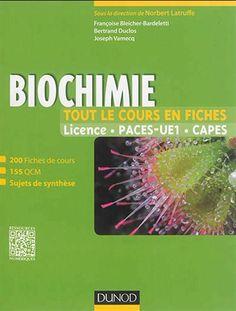 200 fiches présentant les concepts fondamentaux de biochimie structurale et métabolique. Avec des encarts historiques et biomédicaux, des sujets de synthèse et des QCM. Cote: QH 345 B54 2014