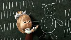 Маша и Медведь (Masha and The Bear) - Раз, два, три! Ёлочка, гори! (3 Серия) - YouTube