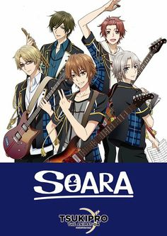 SOARA in the new Tsukipro anime!!! So hyped for it to come out :D