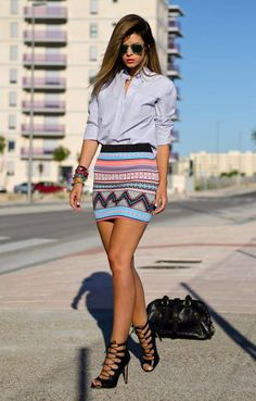 Acquire These 8 Fashion Looks with your Button up Shirts Summer Outfits, Casual Outfits, Cute Outfits, Skirt Fashion, Fashion Outfits, Womens Fashion, Street Style Chic, Fashion Looks, Costume