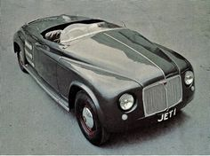 OG   1952 Rover T1 'Jet 1' - Facelifted   Gas turbine powered prototype based on Rover P4.