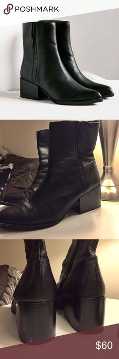 Circus by Sam Edelman Raylan boots Perfect boot for everyday! Gently worn, the leather came softer than website photo. Only one small scuff on back of left heel. Circus by Sam Edelman Shoes Ankle Boots & Booties