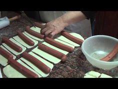 Pão fácil da Jussara Aymone - pão pizza, doguinho. - YouTube