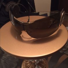 a00c2ecf38b Shop Women s Dior Brown Gold size OS Sunglasses at a discounted price at  Poshmark. Description  Christian Dior sport sunglasses for sale 😎 only  been worn a ...