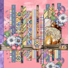 Kathryn Estry Creative Team Layout with Funny Bunnies Digital Scrapbooking Collection @ PickleberryPop a Pickle Barrel Collection https://www.pickleberrypop.com/shop/product.php?productid=50300&page=1