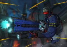 Soldier 76 by AlbertBear