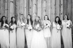 1.4.14 Heather Armstrong Photography. Ponderosa Ridge Ranch Anderson, Ca. Winter Barn Wedding. Bridesmaids photos