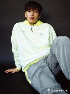 Kang Ha Neul Sky for Esquire Korea March 2020 issue Asian Actors, Korean Actors, Kang Haneul, Seo In Guk, Seo Joon, Joo Hyuk, Jong Suk, Ji Chang Wook, Asian Boys