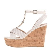 GUESS Γυναικείες πλατφόρμες GILIAN GUESS εκρού - Vres-To.gr High Heels, Wedges, Shoes, Women, Fashion, Moda, Zapatos, Shoes Outlet, Fashion Styles