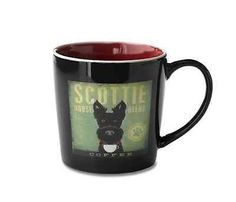 Demdaco-Dogs-Rock-Scottie-Dog-Coffee-Tea-Mug