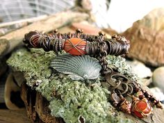 Talisman Collection 60+ yo Stones from India Vintage Tapestry Ladies Tribal Ethnic Bracelet on Etsy, $75.00