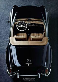 Weekend ride, classic, Mercedes Benz 190 SL, Gatsby Luzxury ... #luxurylifestyle