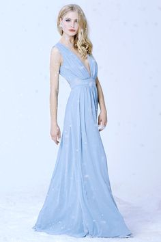9c7ef9b68e Rubber Ducky Tale of Wonder Light Blue Maxi Dress at Lulus.com! Blue Chiffon