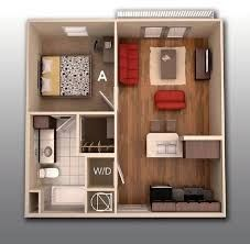Resultat De Recherche D Images Pour Planos De Casas De Menos De 50m2 Plans Petits Appartement Plan Maison Amenagement Appartement