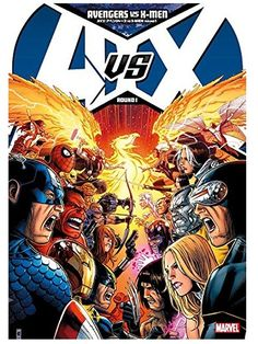 【日本語版アメコミ】AVX: アベンジャーズ vs X-MEN ROUND1