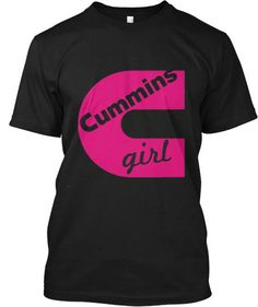 Perfect for lady fans of the famous Cummins Diesel!
