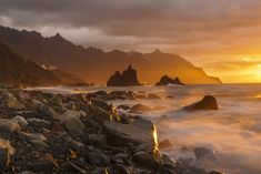 Tenerife, Mountains, Water, Travel, Outdoor, Tourism, Beach, Gripe Water, Outdoors