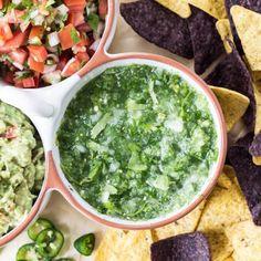 Fresh Tomatillo Salsa - Ready in under 5 minutes!