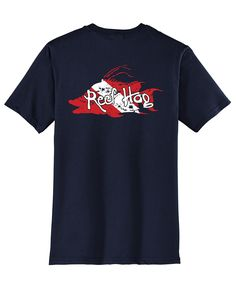 "Hogfish T-shirt with ""Reef Hog"" Dive Logo by Reel Fishy Apparel"