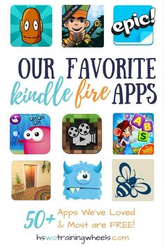 Do you have a Kindle Fire, or have you considered getting one? Here's a huge list of some of our favorite kindle fire kids apps, for every age and subject! Toddler Apps, Toddler Fun, Toddler Learning, Best Learning Apps, Best Educational Apps, Educational Software, Visual Learning, Educational Activities, Learning Spanish