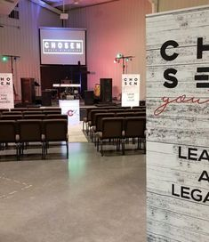 """ Chosen Youth in Seminole, OK talking about their new banners and counter! Youth Rooms, Youth Ministry, Portable Display, Small Case, Banner Stands, White Countertops, Church Banners, Bag Storage, To Go"