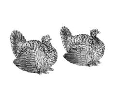 Nickel Turkey Salt and Pepper Shaker | Pottery Barn