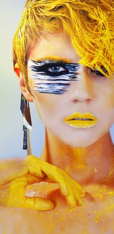 High fashion makeup [ Frownies.com ] #fashion