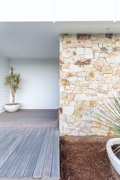 Stone Cladding Exterior, Sandstone Cladding, Sandstone Wall, Wall Exterior, Exterior Design, Stone Feature Wall, Garden Retaining Wall, Stone Panels, Tadelakt
